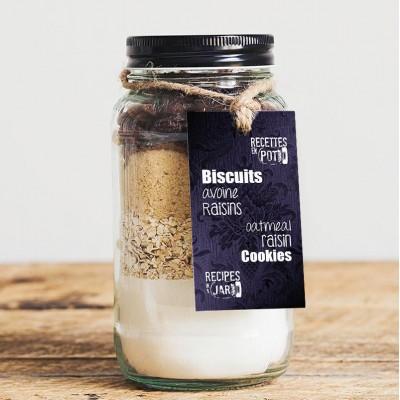 Oatmeal raisin cookies